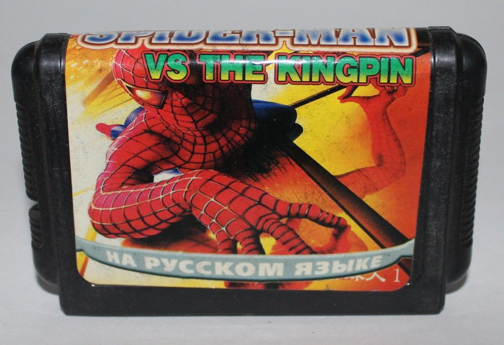 Картридж для Sega Spider Man