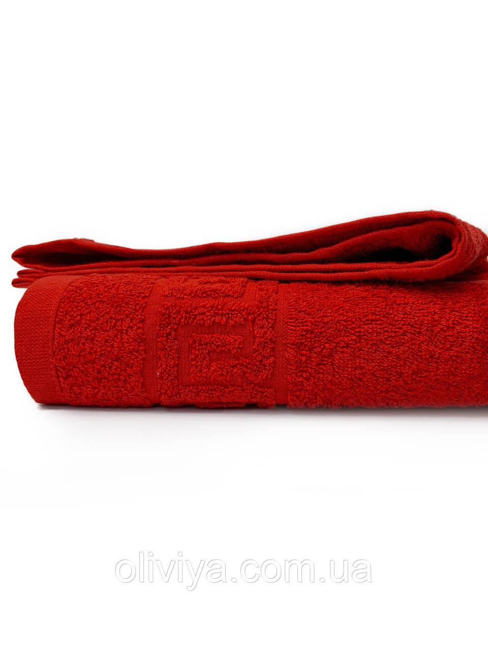 Рушник банний 70х140 RED