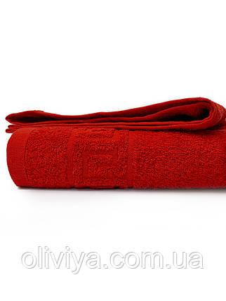 Рушник банний 70х140 RED, фото 2