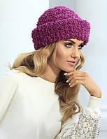 Оригинальная мягкая шапочка с множеством вариантов драпировки от Kamea - Shakira. сиреневый