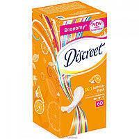 Прокладки ежедневные Discreet Deo Summer Fresh Multiform 60 шт