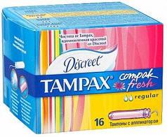 Тампоны TAMPAX Compak Regular Duo c аппликатором 16 шт