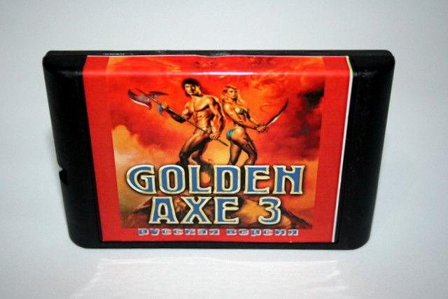 Картридж для Sega Golden Axe 3