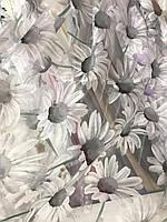 Квітковий тюль з органзи в різних кольорах, висота 2,8м (913), фото 5