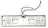 Камера заднего вида в авто номерной рамке с 16 LED подсветкой Silver, фото 3