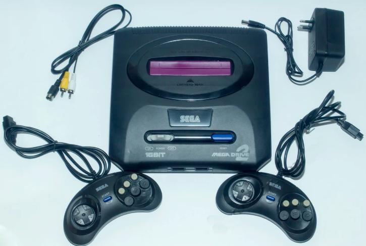 Игровая приставка Sega Mega Drive 2 16 бит 368 вариантов игр | Портативная игровая консоль