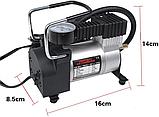 Автомобільний компресор air pump 12В 965 кПа міні насос для накачування коліс, фото 2