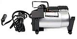 Автомобільний компресор air pump 12В 965 кПа міні насос для накачування коліс, фото 3
