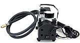 Автомобільний компресор air pump 12В 965 кПа міні насос для накачування коліс, фото 4