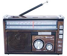 Радиоприемник аккумуляторный GOLON RX-382BT с Bluetooth и фонариком