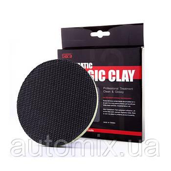 Двухсторонний полировальный круг SGCB Clay Bar Pad Fine Grade Ø150 мм (автоскраб)