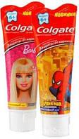 Зубная паста Colgate Детская Барби/Человек-паук для детей от 6 лет 75 мл