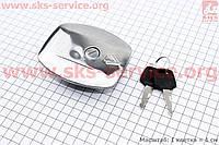Крышка бака топливного металлическая на мотоцикл  VIPER -125-J