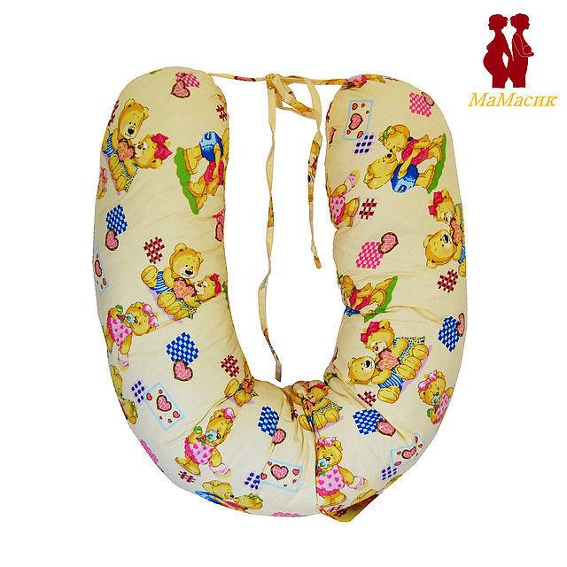 """Подушки """"Банан"""" с завязками для будущих и кормящих мам"""