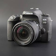 Фотоапарат Canon 77D kit EF-S 18-55mm f/4-5.6 STM