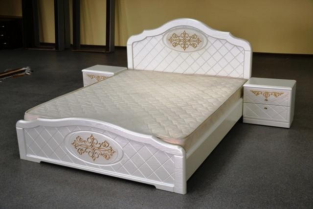Кровать Лючия (1,40 м.) (ассортимент цветов)