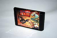 Картридж для Sega Earthworm Jim 2