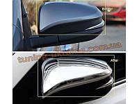 Хромированные накладки на зеркала Toyota RAV 4 2013+