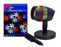 Лазерный проектор снежинки