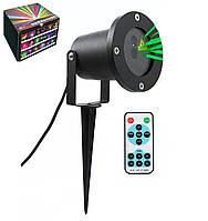 Лазерный проектор зеленый