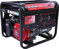 Однофазный генератор 3/2,8 кВА, 230В, 50Гц,HondaGX200, 4,8 кВт/6,5 л.с, 15л, 72кг, ручной старт AGT 3501 HSB .