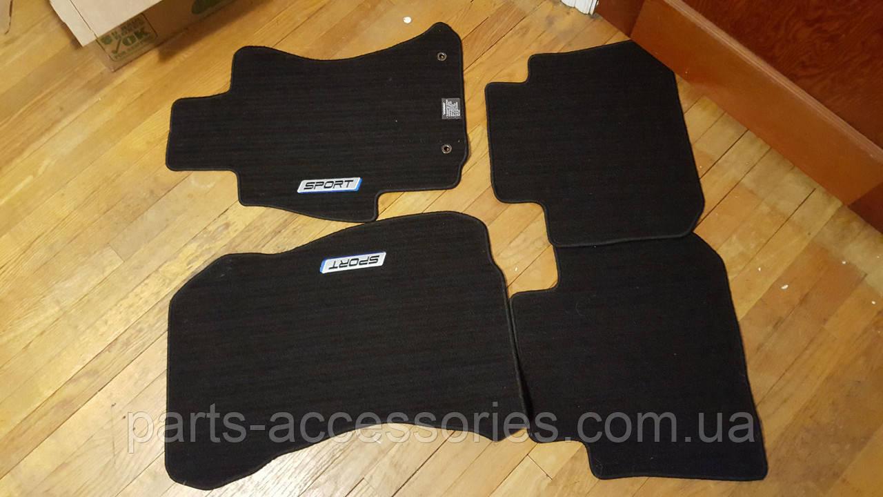 Subaru Impreza 2012-16 коврики велюровые Sport передние задние новые оригинальные