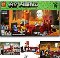 Конструктор Bela аналог LEGO Minecraft 571 деталей 10393