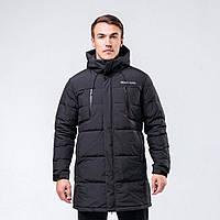 Куртка пуховая мужская Peak Sport FW594171-BLA S Черная (6941123679343)