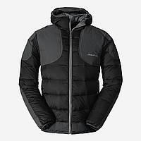 Куртка Eddie Bauer Mens Downlight Hooded Field Jacket L BLACK Чорний (0355BK)