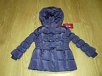 Курточка зимняя для девочки Mine 80 см Сиреневый (Ю9), фото 1