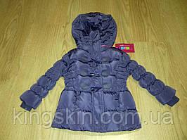 Курточка зимова для дівчинки Mine 80 см Бузковий (Ю9)