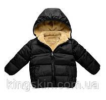 Куртка дитяча Bbl 120 см Чорна (202063)