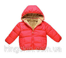 Куртка дитяча Bbl 120 см Червона (202068)