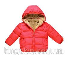 Куртка дитяча Bbl 130 см Червона (202069)