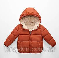 Куртка дитяча Bbl 130 см Коричнева (202074)