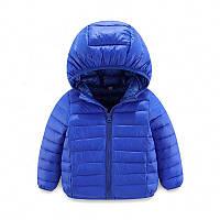 Детская пуховая куртка Kavaland 110 Синяя (202081), фото 1