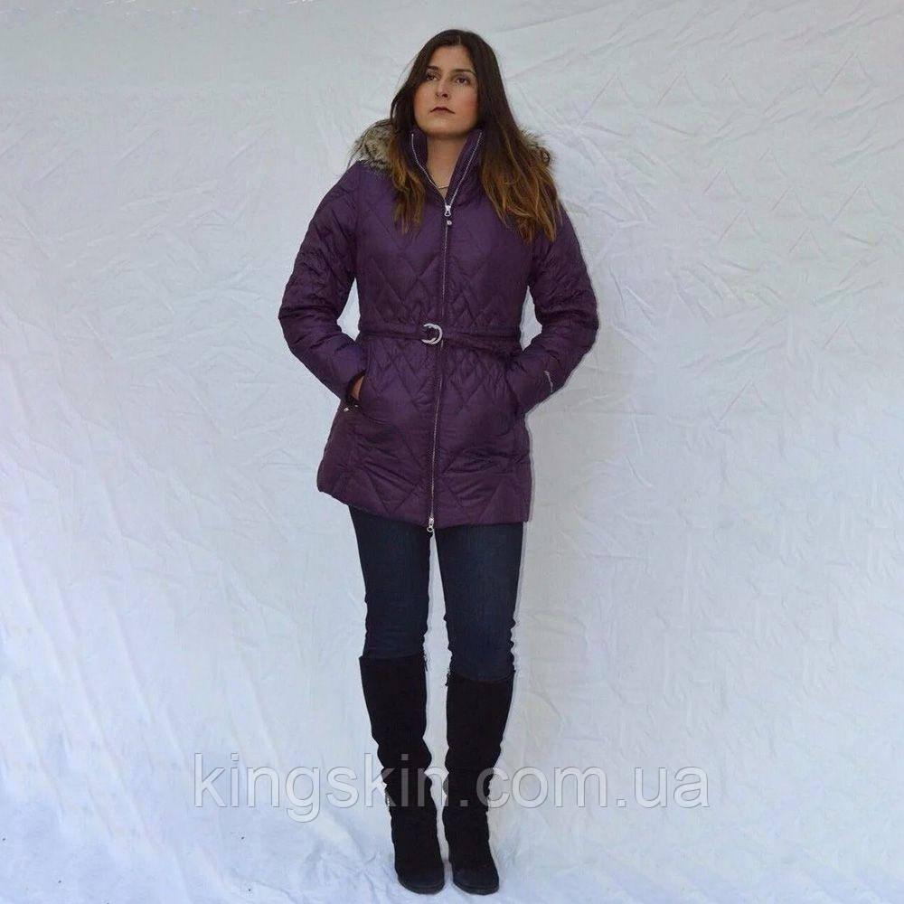Куртка Eddie Bauer Womens Slope Side Down Jacket DEEP EGGPLANT XL Фіолетовий (8225DEP)