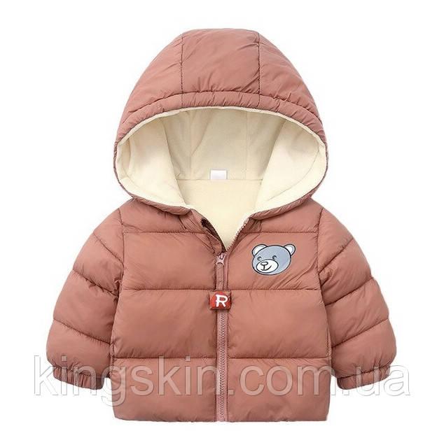 Детская куртка Dudu 120 Розовый (212042)