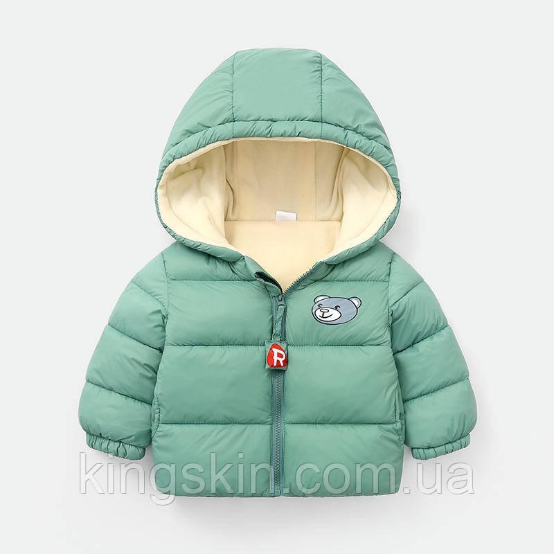 Детская куртка Dudu 120 Бирюзовый (212047)