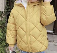 Детская куртка Ching home 110 Желтый (212066)