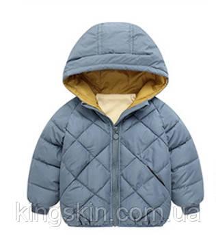 Детская куртка Ching home 120 Голубой (212070)