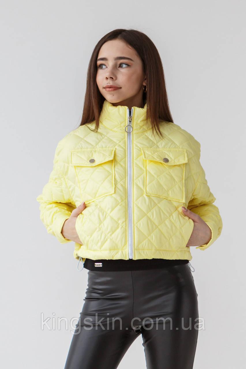 Куртка Suzie Лорайн 164 см Лайм КТ42111п