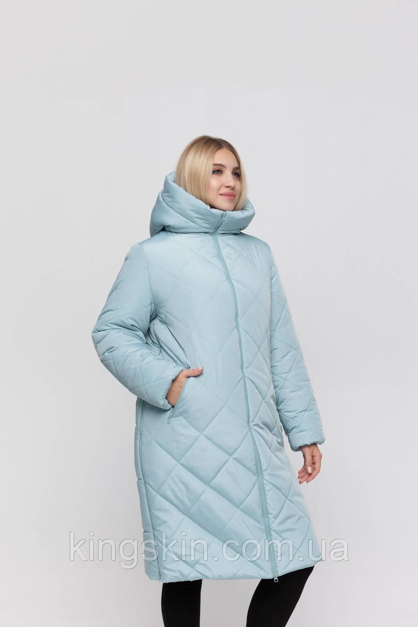 Пальто для вагітних Юла Мама Helsinki L Блакитний OW-40.061