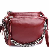 Женская кожаная сумочка клатч 8833 Red Женские кожаные сумки и кожаные клатчи купить недорого в Украине