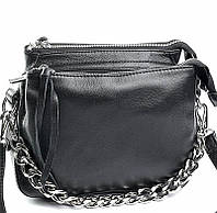 Женская кожаная сумочка клатч 8833 Black Женские кожаные сумки и кожаные клатчи купить недорого в Украине