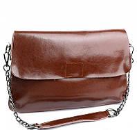 Женская кожаная сумочка клатч 8605 Brown Женские кожаные сумки и кожаные клатчи купить недорого в Украине