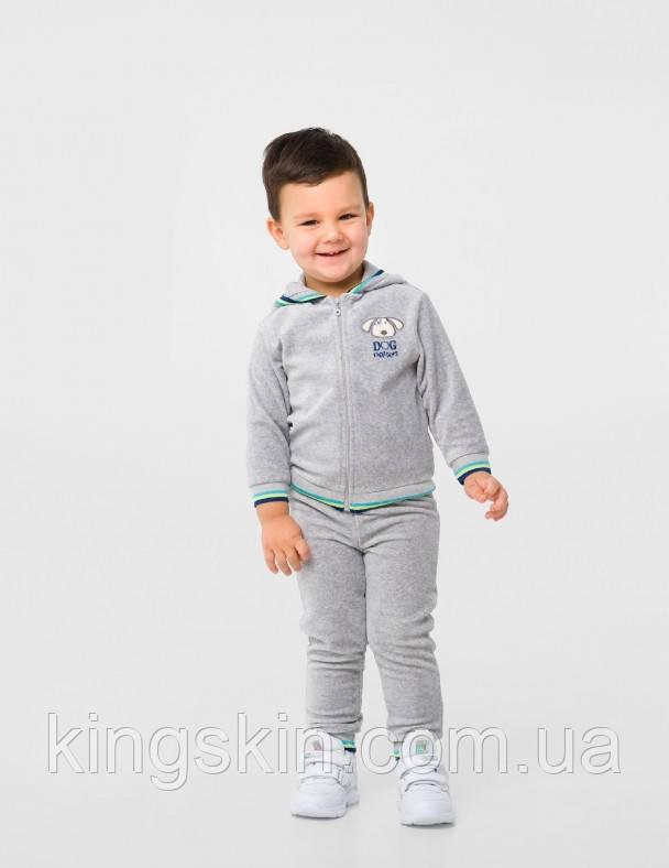 Куртка для хлопчика SMIL 117271 р. 92 Сірий меланж
