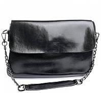 Женская кожаная сумочка клатч 8605 Black Женские кожаные сумки и кожаные клатчи купить недорого в Украине