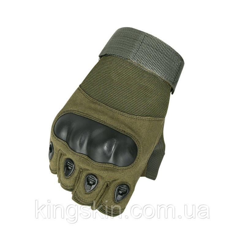 Рукавиці тактичні безпалі Lesko E301 Green M