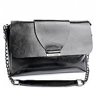 Женская кожаная сумочка клатч 005 Black Женские кожаные сумки и кожаные клатчи купить недорого в Украине